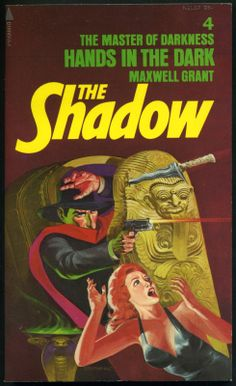 The Shadow 4 - Hands in the Dark - Steranko cover