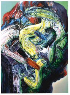 "GLENN BROWN (1966, UK) ""Soul Disco Ambient Funk"" (2009) / http://www.gagosian.com/artists/glenn-brown/selected-works"