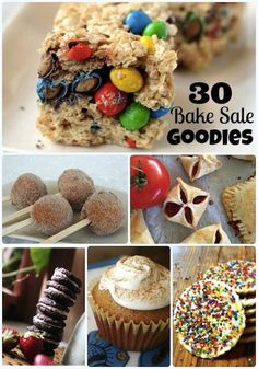 30 Yummy Recipes For A Bake Sale: Part 1