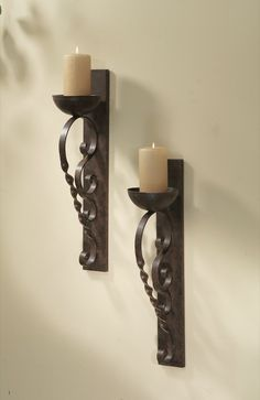 """Candle Sconces Wall Decor metal candle holder lantern 4.7"""" x 4.7"""" x 10.6""""   candle"""