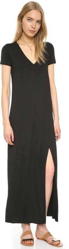 Three Dots Connie T-Shirt Maxi Dress