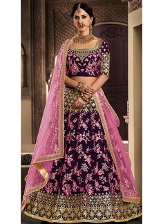 Looking to Buy Lehenga Online: Buy Indian lehenga choli online for brides at best price from Andaaz Fashion. Choose from a wide range of latest lehenga choli designs. * Express delivery, Shop Now! Net Lehenga, Indian Lehenga, Orange Lehenga, Red Saree, Indian Bollywood, Bridal Lehenga, Choli Designs, Lehenga Designs, Fancy Sarees