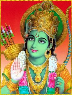 "SHRI RAMACHANDRA ॐ""When Lord Ramachandra, the Supreme Personality of Godhead, was the King of this world, all bodily and mental suffering, disease, old age, bereavement, lamentation, distress, fear and fatigue were completely absent. There was even no death for those who did not want it.""~Srimad Bhagavatam 9.10.53"