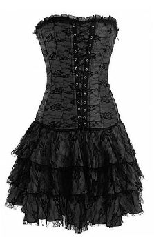 Black Vampirella Dress from Goodgoth.com
