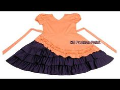 The tutorial is about Vintage princess heart shaped collar splicing classic lolita baby dress cutting & stitching. Baby Dress Design, Baby Girl Dress Patterns, Kids Frocks, Frocks For Girls, Trendy Dresses, Girls Dresses, Baby Dresses, Kids Dress Collection, Kids Ethnic Wear