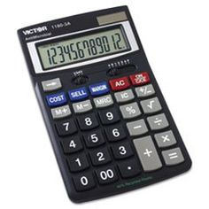 Victor Technology 1180-3A Standard Function Calculator