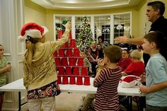 "Christmas ""Minute to Win it"" games for a family party! by virginia"