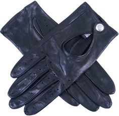 A timeless classic the unlined leather driving glove with cut out back and knuckle holes.