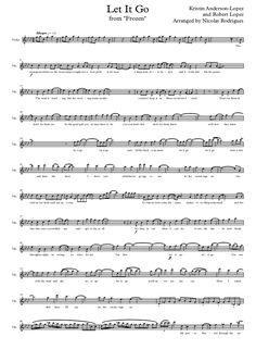 Disney frozen   let it go - violin by Nicolas Rodrigues via slideshare