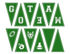 Free football party banner and other printables! Football Banner, Football Tailgate, Free Football, Football Themes, Football Birthday, Football Decor, Football Parties, Football Baby, Football Food