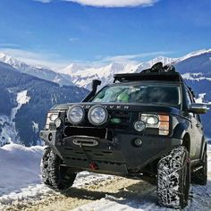 """2,435 Likes, 9 Comments - @landroverphotoalbum on Instagram: """"No chain. No gain. By @telemarkfriend #Discovery3 #LR3 #Discovery #landroverdiscovery…"""""""