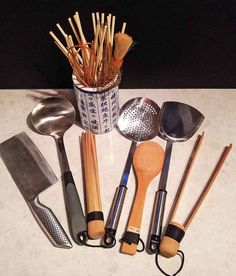 Asian cooking utensils http://www.google.co.nz/blank.html