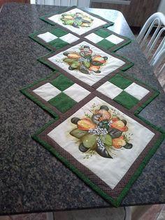 Caminho de mesa | Costurinhas Patchwork - Elisama Aguiar | Elo7