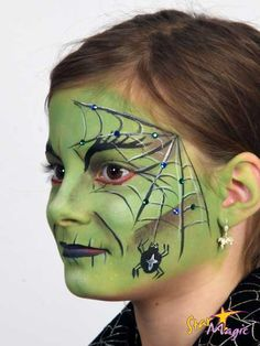halloween make up heks