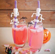 http://www.cottagedelight.co.uk/info/recipe/halloween-fruity-tea-punch Halloween Fruity Tea Punch Creepy Halloween Cocktail, ideal for Children.