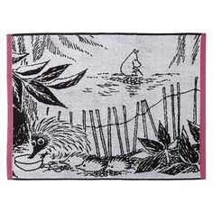 Moominpappa's Memoirs hand towel 50 x 70 cm by Finlayson
