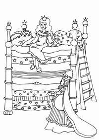 Colouring Pages, Coloring Sheets, Adult Coloring, Coloring Books, Drawing Stencils, Famous Fairies, Princess And The Pea, Classic Literature, Little Pigs