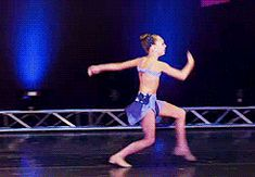 When she had the most ***flawless switch leap: | 17 Times Maddie Ziegler's Dance Moves Blew Your Freakin' Mind
