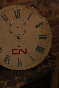 CN Rail Clock Face Trains, Clock, Canada, Craft Ideas, Face, Watch, Clocks, Faces, Train