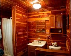rustic wood wall designs and shapes for cabins - Google Search