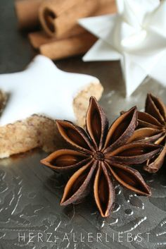 Star anise cookies: such a gorgeous spice.