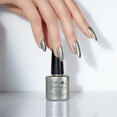 #CND #CNDnightspell Captivated by it's beauty. Shade shown, Mercurial.