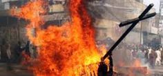 A court in Pakistan acquitted 115 suspects who were charged with setting the homes of more than 150 Christian families on fire, saying there wasn't enough evidence to go forward with the case.  The Christians said their homes were set ablaze because their Muslim perpetrators accused them of blasphemy against the prophet Mohammed.