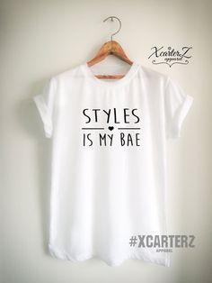 Styles Shirt STYLES is My BAE Boyfriend T-Shirt Unisex by XcarterZ