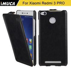 xiaomi redmi 3s case xiaomi redmi 3s cover luxury flip leather case For xiaomi redmi 3S Prime 3 Pro 3 S iMUCA Brand Phone Cases