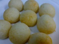Soft and Chewy Okara Pon De Queijo Recipe - Yummy this dish is very delicous. Let's make Soft and Chewy Okara Pon De Queijo in your home! Okara Recipes, Healthy Recipes, Baking Recipes, Dessert Recipes, Pulp Recipe, Low Carb Sweets, Tasty, Yummy Food, Food Obsession