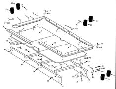 Beverage Tables The Multi Part Video Cue Rack Building Your Own Pool Table  Is A Rewarding Project One 10 Blade Diy