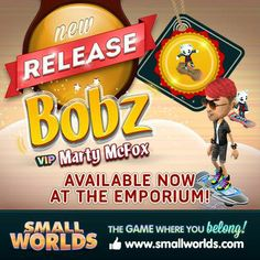 BOBZ! The cutest! Check him out now in the Emporium :)