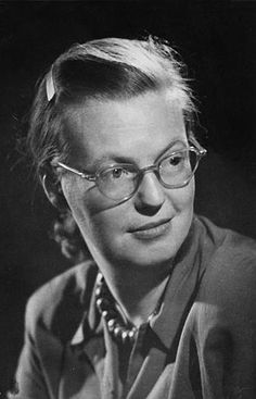 """Shirley Jackson - most well known for her controversial short story """"The Lottery."""" If you ever read and loved this story, I highly recommend checking out her other work. This woman could draw a frighteningly realistic portrait of the human psyche and psychosis that lurks within us all. That is why I love her!"""