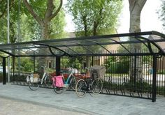 Turvec 'Top' bike shelter