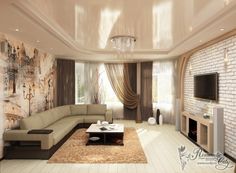 Latest trends in modern living room wall paint colors 2019 Decor, House Design, Room, Living Room Colors, White Living Room Decor, Paint Colors For Living Room, Room Color Combination, Living Room Wall, Modern Living Room Wall
