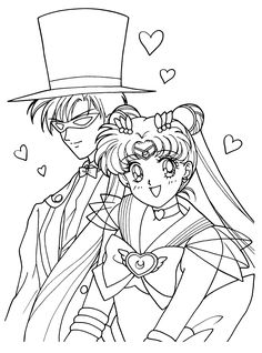 Sailor Moon Coloring Pages. 30 Sailor Moon Coloring Pages. Free Printable Sailor Moon Coloring Pages for Kids Sailor Moons, Sailor Moon Manga, Cat Coloring Page, Cartoon Coloring Pages, Coloring Book Pages, Coloring Sheets, Sailor Moon Coloring Pages, Princess Coloring Pages, Tuxedo Mask