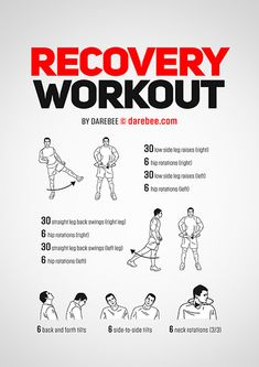 The Recovery workout is the workout you go to when recovering from a cold or a tough workout. Fit Board Workouts, Easy Workouts, At Home Workouts, Office Workouts, Workout Plans, Workout Ideas, Home Boxing Workout, Body Workout At Home, Body Weight