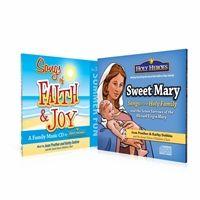 Sweet Mary AND Songs of Faith & Joy audio CDs