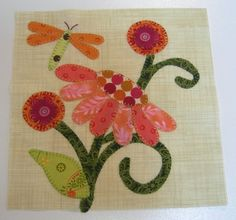 Applique pattern link- Pat Sloan's work- love her items