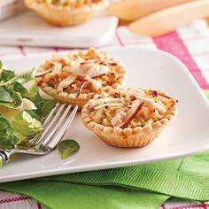 Tartelettes thon et pommes - Soupers de semaine - Recettes 5-15 - Recettes express 5/15 - Pratico Pratiques