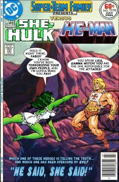 Super-Team Family: The Lost Issues!: She-Hulk Vs. He-Man