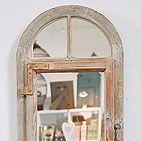 mirror with door