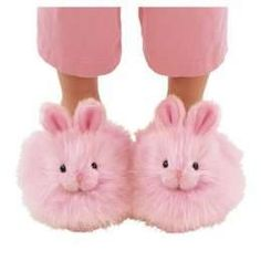 Who's wants to make these for our slipper contest! I think it's necessary to have at least one pair of bunny slippers entered :) Color Magenta, Color Rosa, Purple, Pretty In Pink, Pink Love, I Believe In Pink, Lolita Anime, Bunny Slippers, Pink Slippers