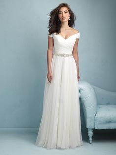 Allure Wedding Dresses and Gowns Allure Bridals 9211 Allure Bridal One Enchanted Evening - Designer Bridal, Pageant, Prom, Evening & Homecoming Gowns Wedding Dress Train, 2015 Wedding Dresses, Wedding Dresses Plus Size, Wedding Dress Styles, Bridal Dresses, Wedding Gowns, Prom Dresses, Tulle Wedding, Mermaid Wedding
