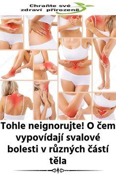 Tohle neignorujte! O čem vypovídají svalové bolesti v různých částí těla Bikinis, Swimwear, Health, Bathing Suits, Swimsuits, Health Care, Bikini, Bikini Tops, Costumes