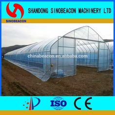 Single Span Greenhouse For Agricultural Plants Growing