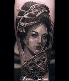 50+ Beautiful Geisha Tattoos | Cuded