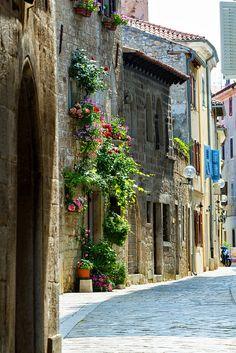 Porec, Croatia / city streets