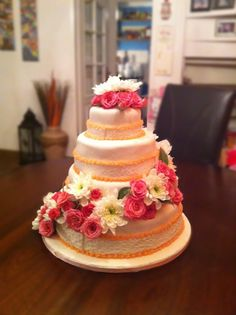 Weddingcake by Odete's Delicious