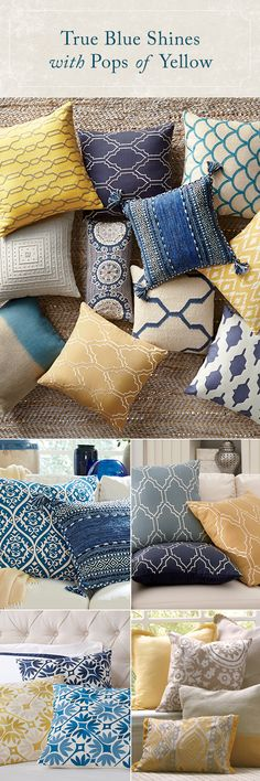 We're pillow lovers, not pillow fighters. There's just something about them that make a bed, sofa, or chair look more finished – not to mention, comfy! With a selection of decorative pillows in all styles, fabrics, and colors, Birch Lane is sure to have that finishing touch you need. Shop now!